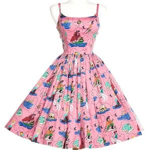 Pinup Couture Neverland Jenny Dress UsedSZ M